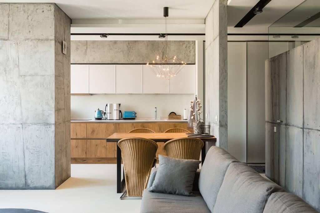Кухня-гостиная 47м2