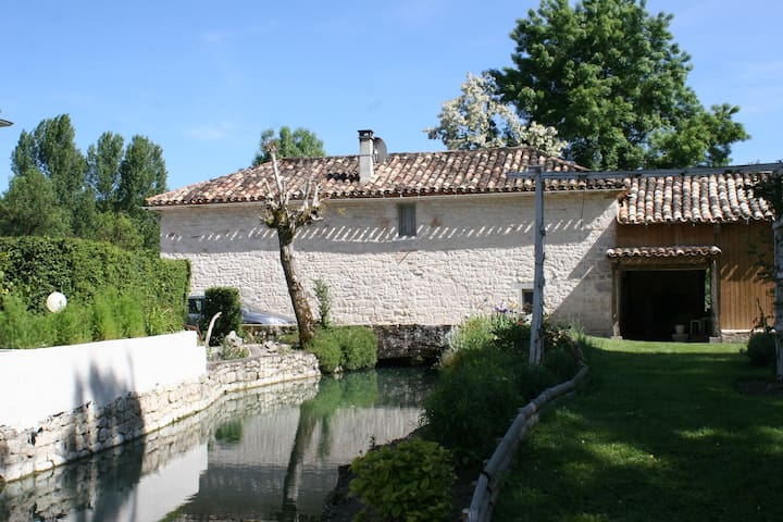 MOULIN AUTHENTIQUE  - Puylaroque - Casa