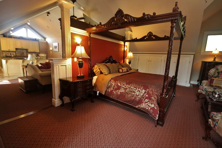 Luxurious Mountain Apartment Suite - Asheville - Apartment