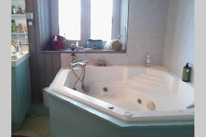Chambre et salle/bain Centre ville  - Mâcon - Apartemen