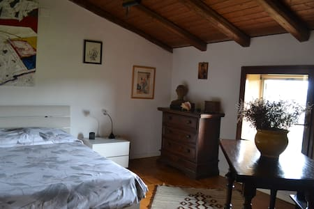 Room in medieval village  - Abbazia di Monteveglio (Bo) - Szoba reggelivel