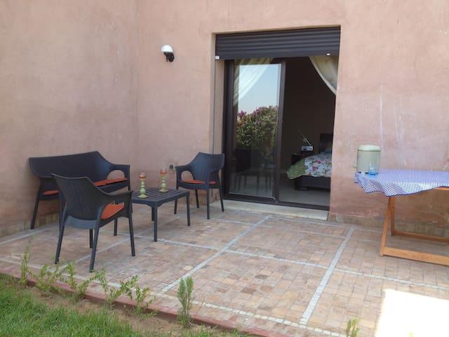 Апартамент Марракеш с бассеином - Marrakech - Apartamento