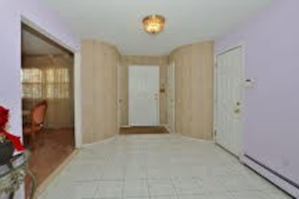 Foyer; large, welcoming entryway.