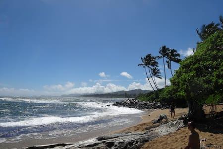 KAUAI -Ocean Front Resort- Kapaa - Kapaa
