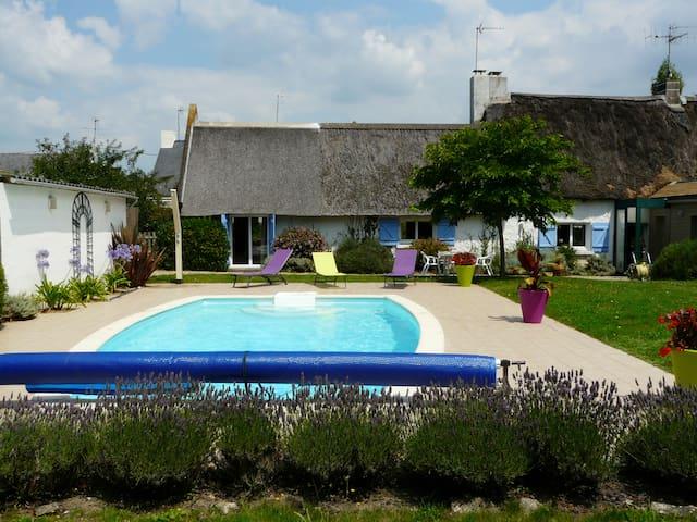 Chaumière en Brière - La Chapelle-des-Marais - Casa