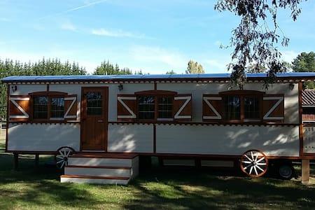 La roulotte du Celtis - Giscos - Cabaña en la naturaleza