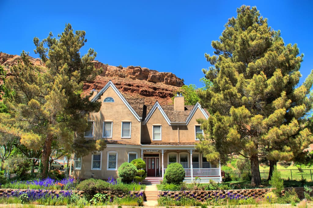 Our Amber Inn Bed and Breakfast at Zion National Park