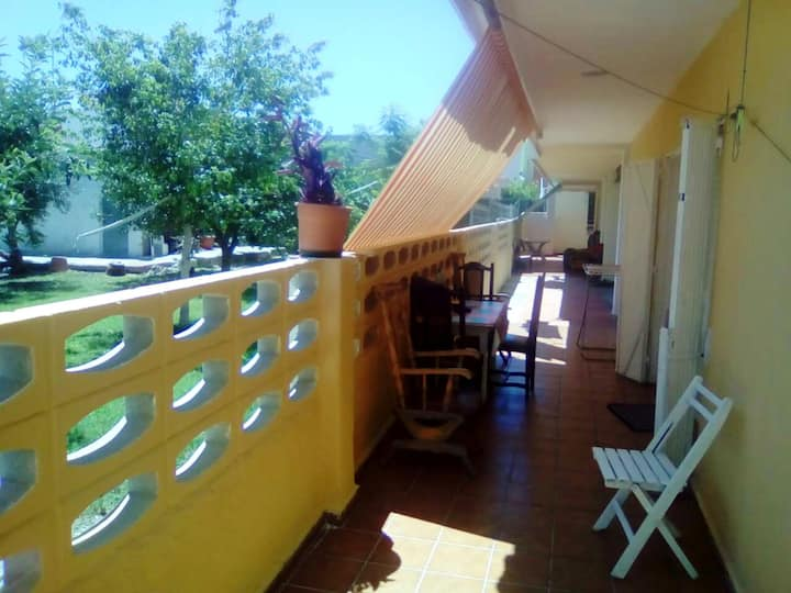 House with 3 bedrooms in Gandia, with furnished terrace - 700 m from the beach