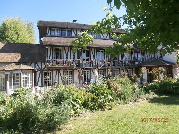Chambre des artistes près Giverny