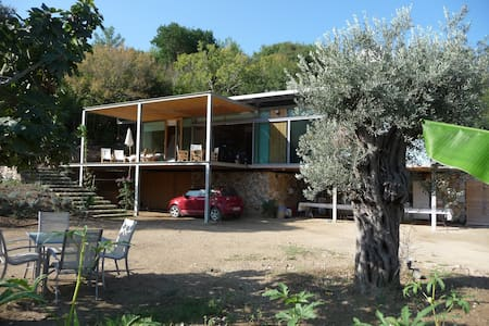 design farm house in the nature - Bodrum