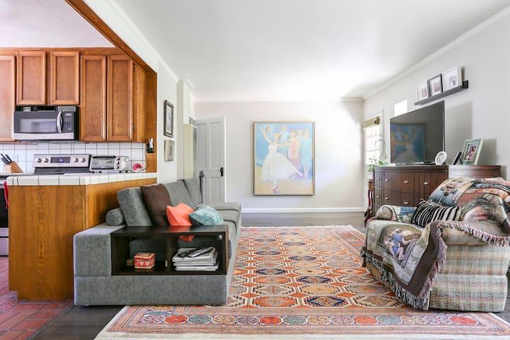 Cute cottage room, Menlo & Stanford - Menlo Park - Casa