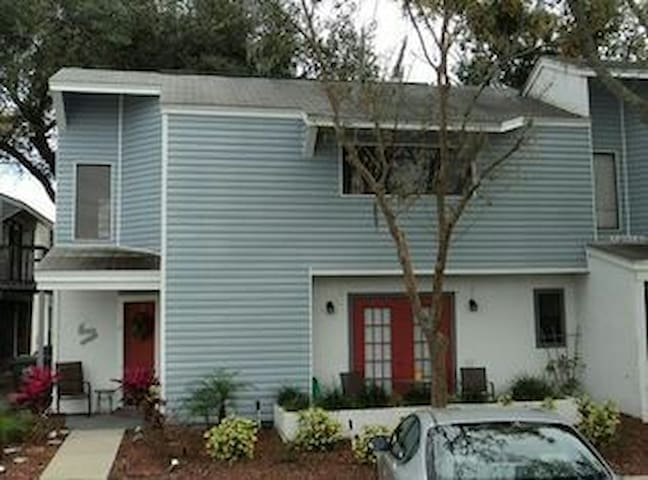 Two-Story Gated Community Townhome