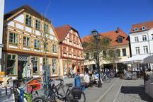 Blockhaus in Waren Müritz