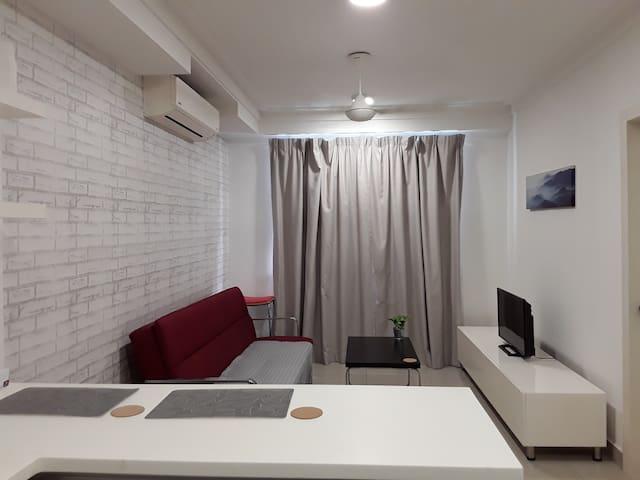 Comfortable cozy living area