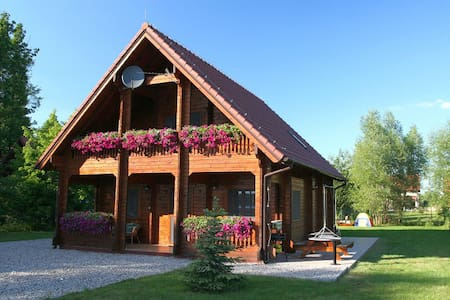 Beautiful Wooden House By the Lake