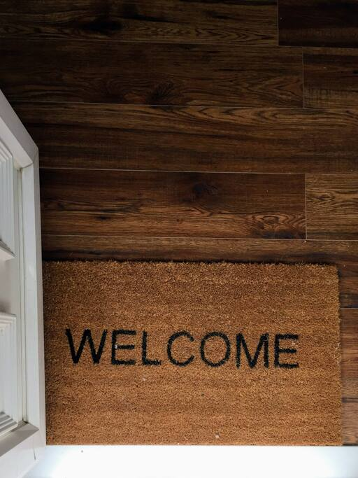 Welcome you to our lovely home