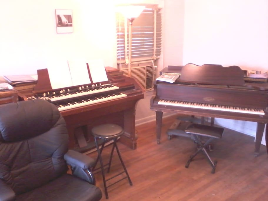 The Living room is a music studio