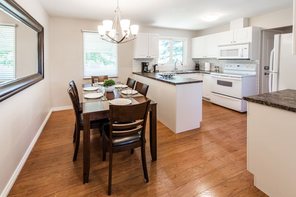 """This house is so well set up for a family to stay. The kitchen is very well equipped and everything is clean, modern, and well thought out."" - Marc"