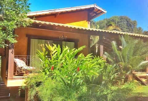 Casa Zen-Uai com área gourmet em Casa Branca/MG