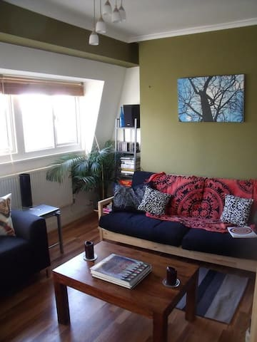 Double room in lovely,airy flat