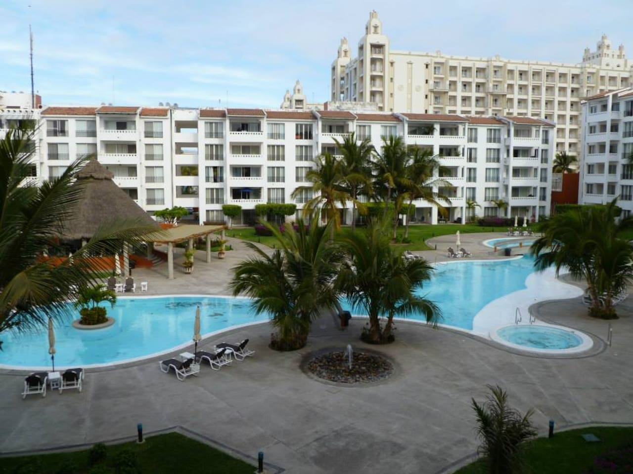 Enjoy two, amazing pools, a children´s pool and the jacuzzis