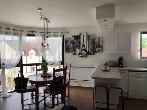 Knus en licht appartement- 70m2