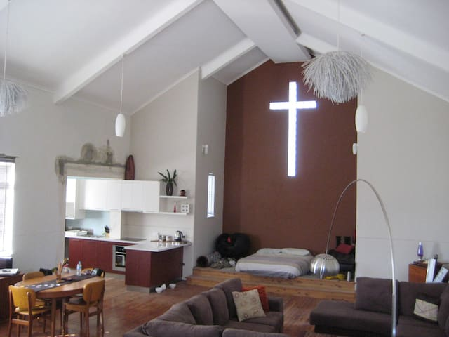 Luxury church retreat outside Wagga - Yerong Creek