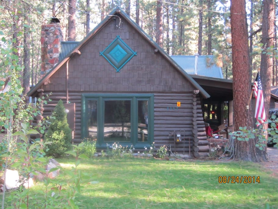 Cleveland 39 S Log Cabin Cabins For Rent In South Lake