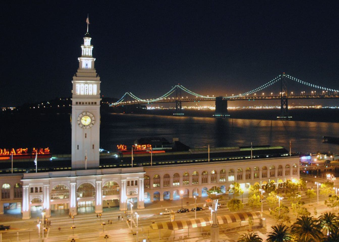 The Ferry Building is just a few minutes away.