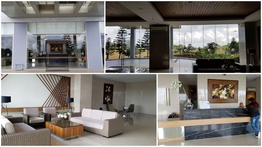 Grand lobby as you enter Dream Suites