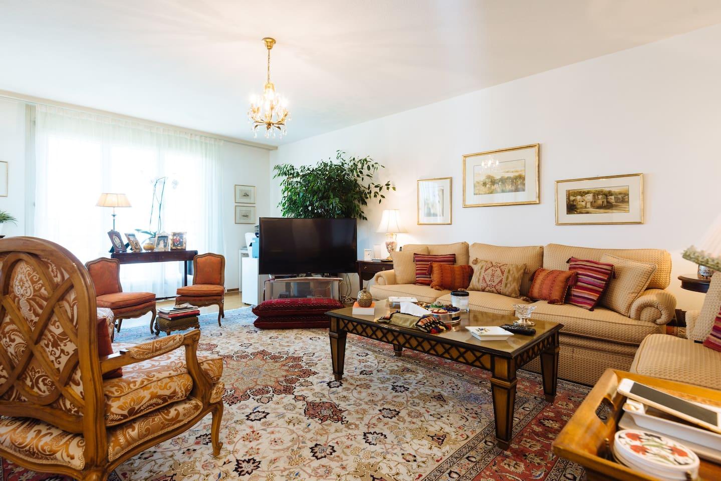 Brightness of the living room