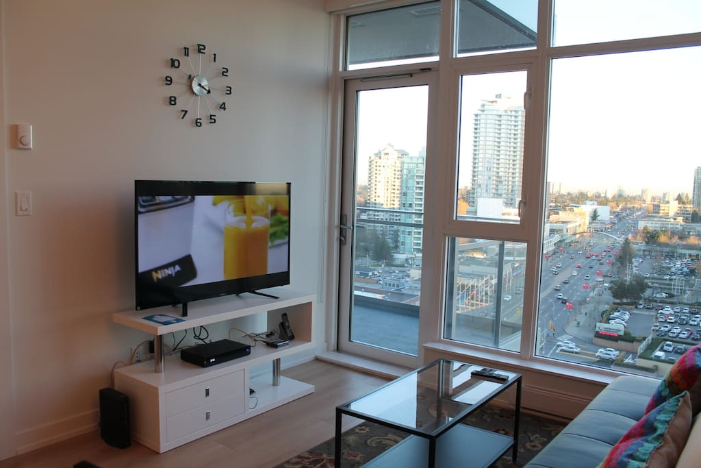 living room/TV set