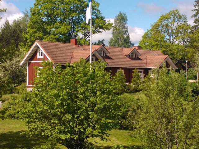 Peaceful holiday in Country House - Lohja - Rumah