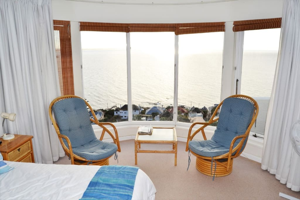 Main bedroom, view of ocean