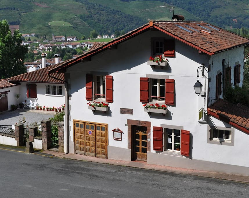 Errecaldia, a traditional Basque house, over 300 years old!
