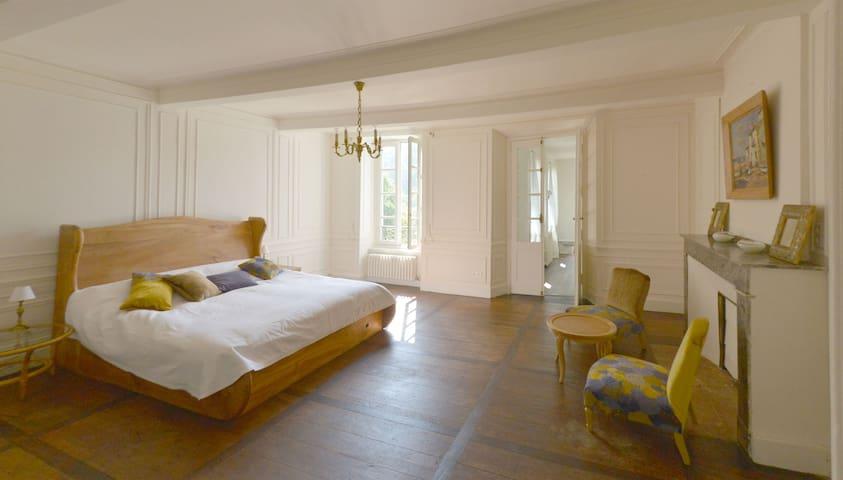 Chambre Lydia - Castillon-en-Couserans - 家庭式旅館