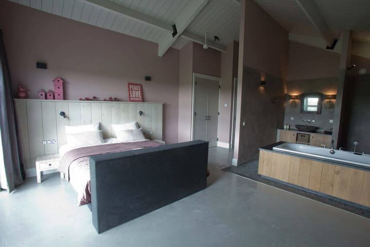 De Zudde with Spa-bath - Ane, Overijssel - Bed & Breakfast