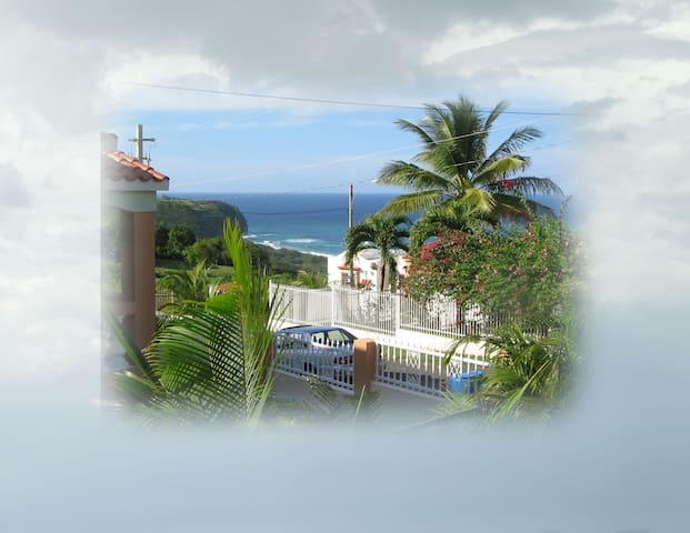 Beautiful Apartment with Ocean View - Isabela - Leilighet