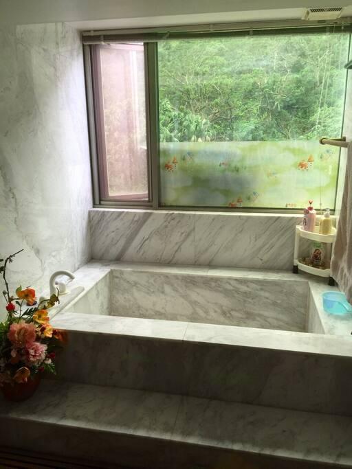 Mountain View Bathing Tub