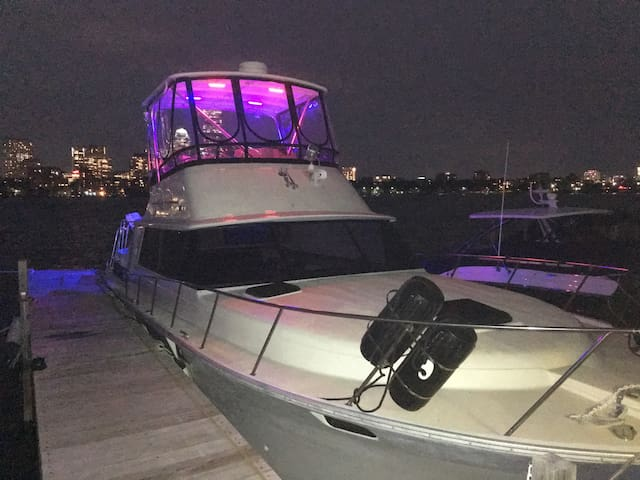 40 ft updated boat