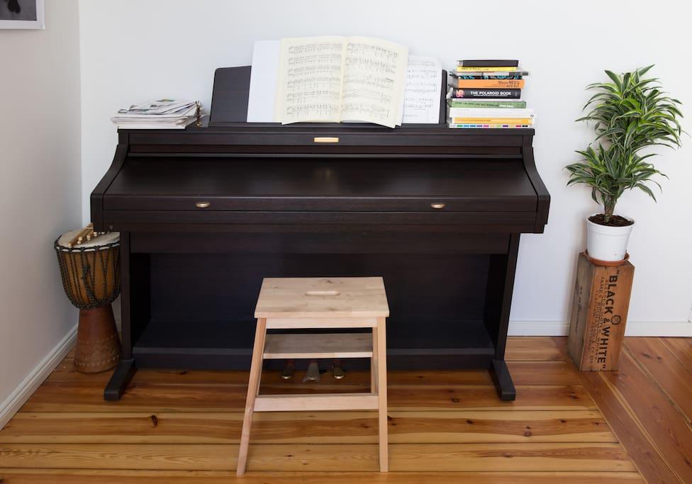 Living room- Piano