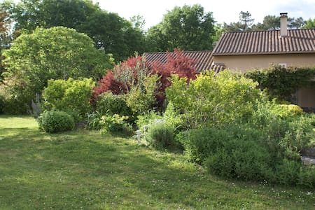1 Chambre double ( 1 lit de 2 pers) - Sarliac-sur-l'Isle - Bed & Breakfast