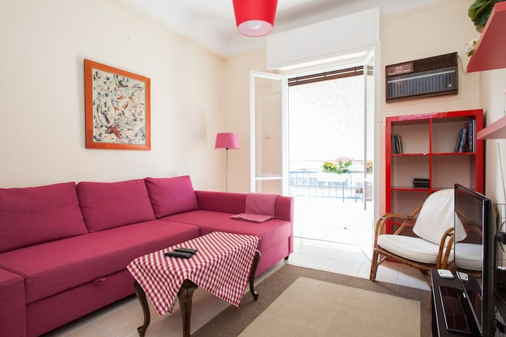 Cozy apartment in the city center - Athens - Apartment