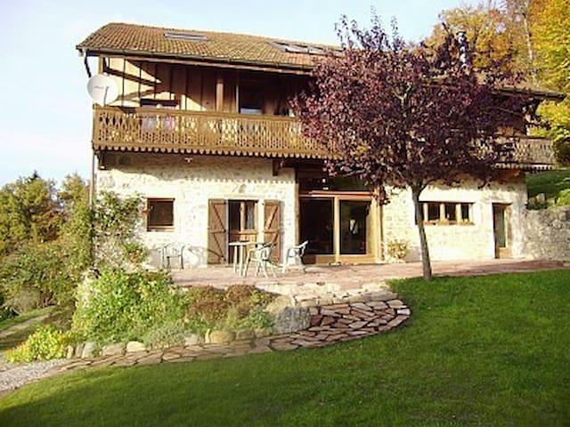 """Gîte """"chez Loan"""" - Saint-André-de-Boëge - Wohnung"""