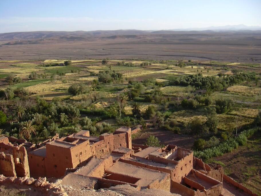 Ouarzazate route marrakech maison privee vue atlas houses louer tizgzaouine souss massa - Maison ouarzazate ...