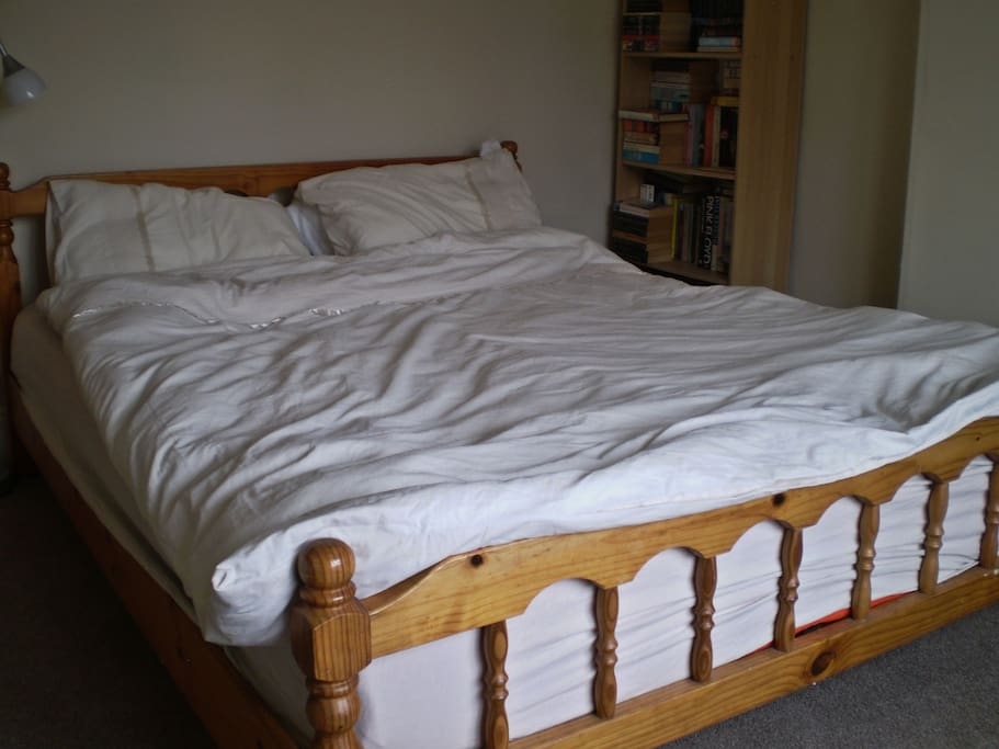 King size bed in your bedroom