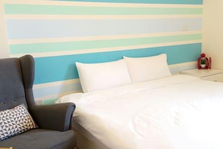 晴天雙人房1 king double bed續住優惠,安心旅遊補助+三倍卷,0920980019