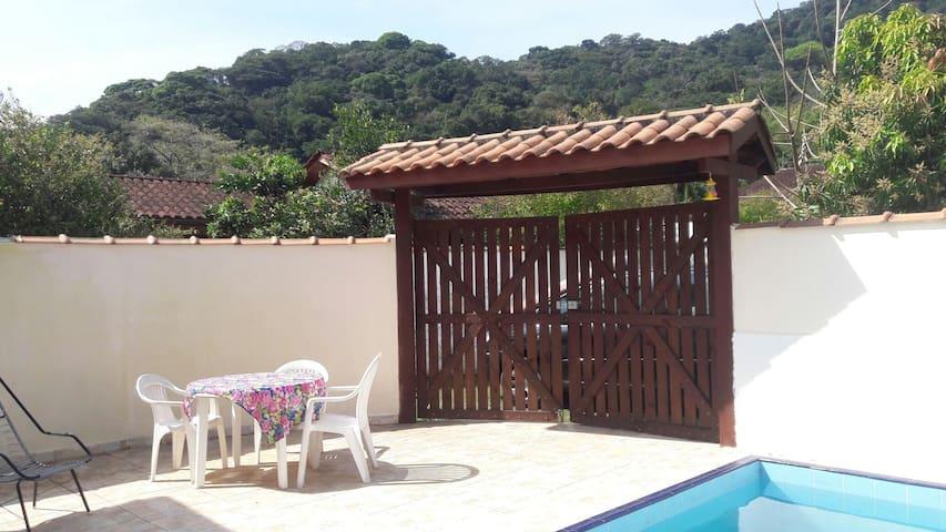CASA COM PISCINA EM BOIÇUCANGA - Praia de Boiçucanga - Apartamento