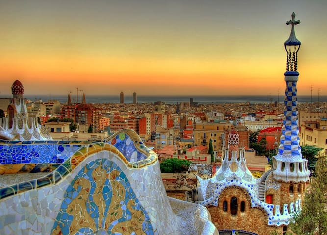 Park Guell Gaudi - 30 min by subway