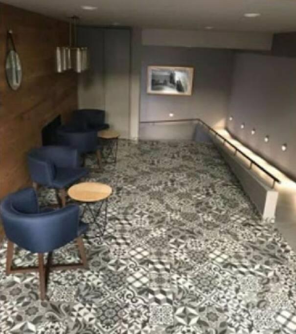 Lobby de recepción